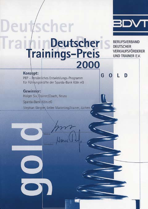 Internationaler Deutscher Trainingspreis